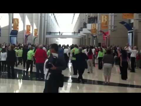 NRA Show flash mob