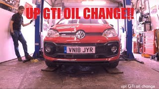 VW Up! GTI - DIY Oil Change Guide & Check