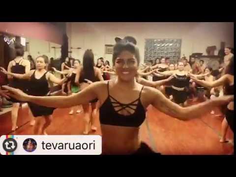 TVO Advanced Team Warm Ups • Tahitian Dance