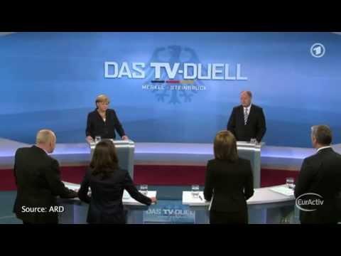 German elections TV duel produces no winner