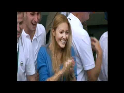 Novak Djokovic Wimbledon 2011 celebration slavlje