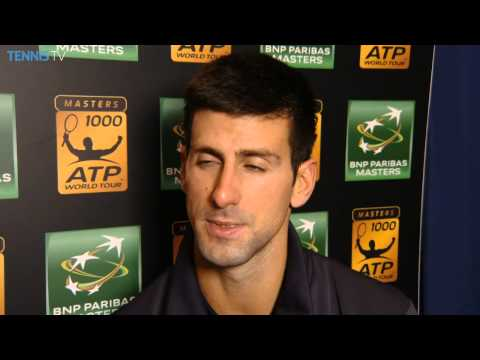 Paris 2014 Final Interview Djokovic