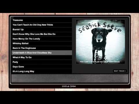 Seasick Steve &#039;You Can&#039;t Teach An Old Dog New Tricks&#039; album player