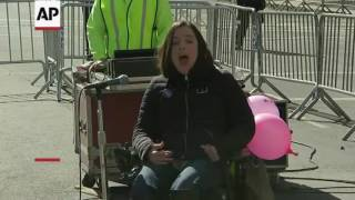 Video: 'Not My President's Day' rally in New York
