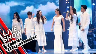 "Team NiNi: ""အိမ္"" - Live Show - The Voice Myanmar 2019"