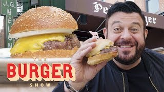 Adam Richman Eats the Two Most Iconic Burgers in NYC | The Burger Show