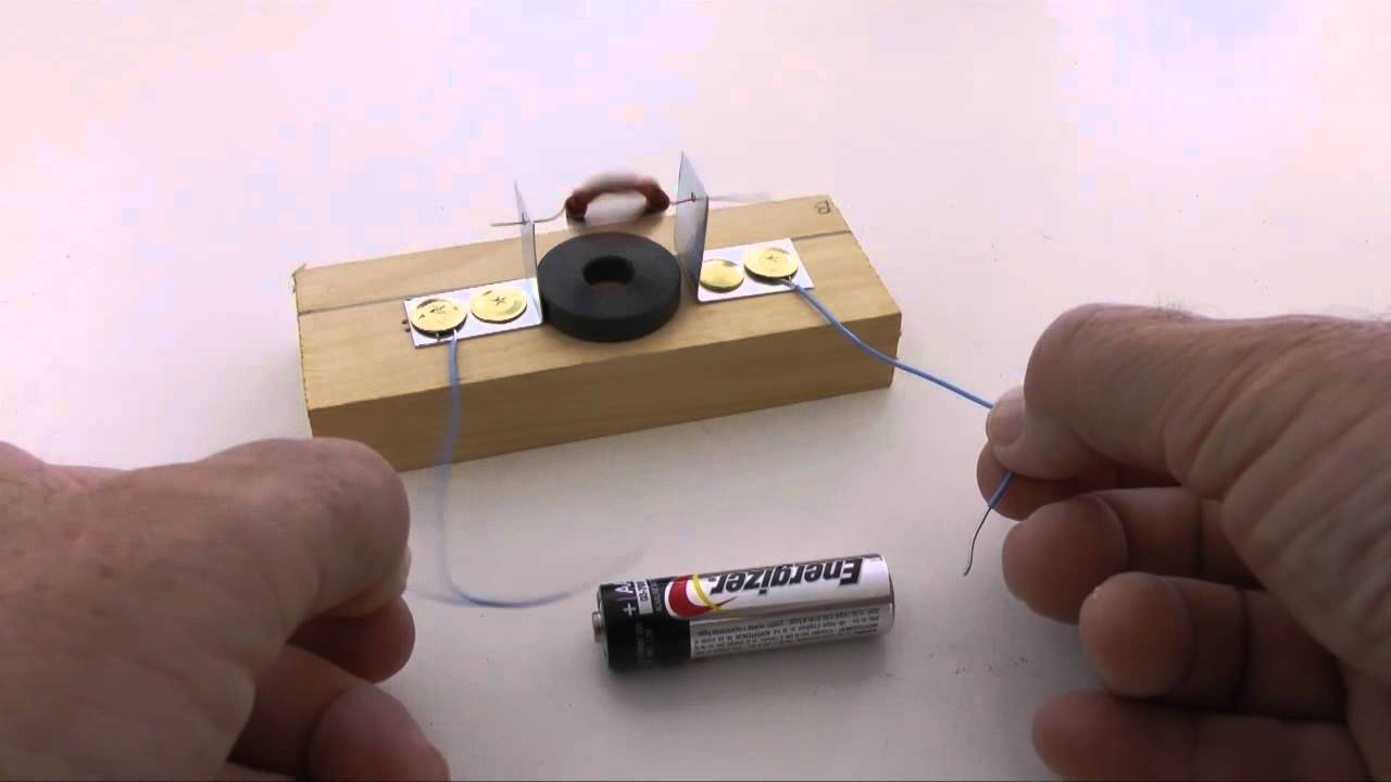 Build An Electric Motor Youtube