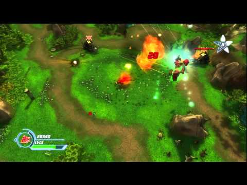 Voltron: Defender of the Universe the Video Game(Xbox 360) - HD Gameplay