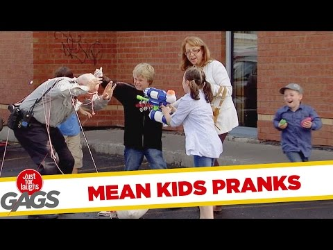 Mean Kids Pranks