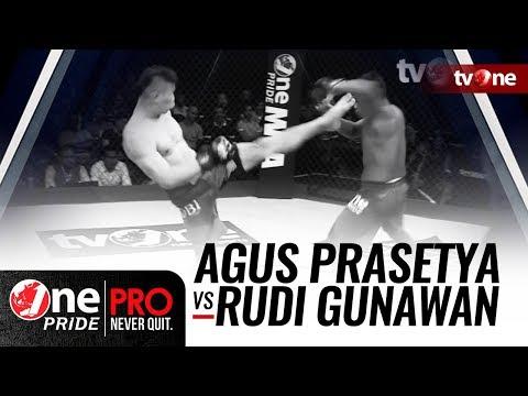 [HD] One Pride MMA 3: Agus Prasetya vs Rudi Gunawan - FULL FIGHT