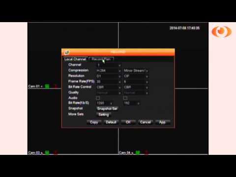 LaView USA Delux Series Schedule Record Procedure