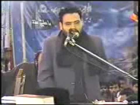 Zakir Agha Mureed Abbas  Shahadat Bibi Fatima Sa  video