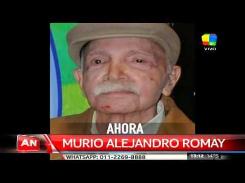 Murió Alejandro Romay: el recuerdo de Guillermo Andino