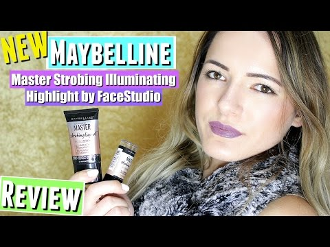 NEW Maybelline Master Strobing Liquid Illuminating Highlighter +NEW Maybelline Master Strobing Stick