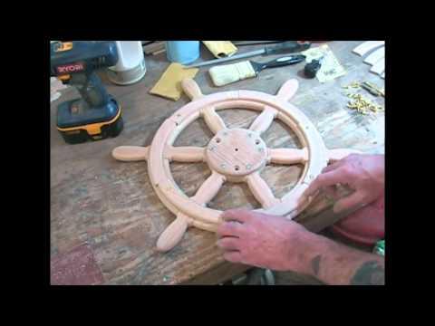 Как сделать штурвал корабля своими руками из картона