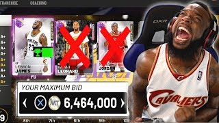 I SOLD ALL MY OPALS For Limited Lebron James! OVER 6mill MT! NBA 2K19