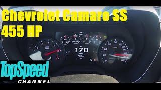 Chevrolet Camaro SS V8 6.2 455HP manual Acceleration 0-170 mph
