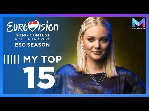 Eurovision 2020 Season - MY TOP 15 (so far) | (19/01/20)
