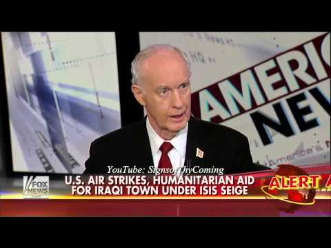 ISIS : Lt. General McInerney says Obama helped build ISIS with Weapons from Benghazi (Sept 03, 2014)