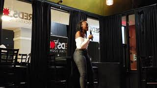 BLAQ ISIS MAKES HER COMEDY DEBUT AT REDSTAR LOUNGE IN RICHTON PARK IL.