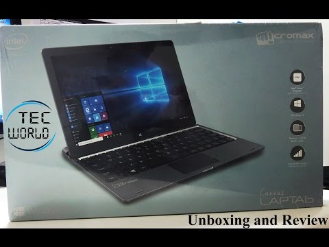 Micromax Canvas Laptab Unboxing, First Impressions and Initinal Review
