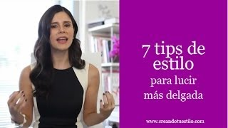 7 tips de estilo para lucir más delgada - How to look slimmer in clothes