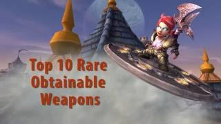 Top 10 Rare But Obtainable Weapons in WoW