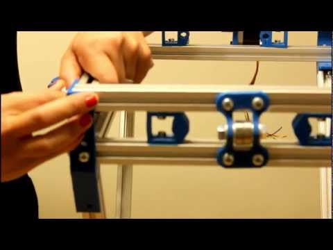 Part 10 3d Printer Assembly Mendelmax Type Build Guide / The 3d Printer Girl