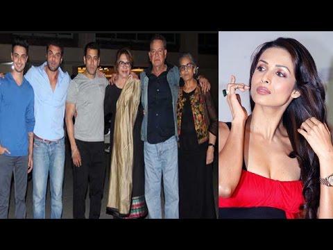 Malaika Arora Khan missed her mother-in-law Salma Khan's birthday bash! | Bollywood News