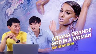 "Dad Reacts To ""Ariana Grande - God Is A Woman"" 