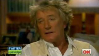 Rod Stewart on Piers Morgan Tonight (US) - Interview Part 4 of 5
