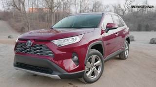 2019 Toyota RAV4 Hybrid Interior and Exterior