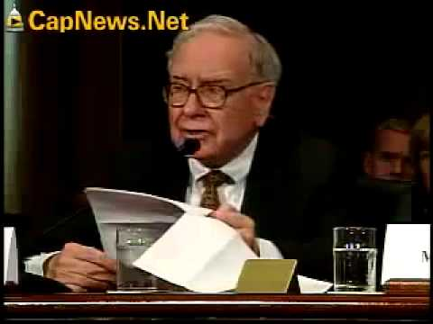 Warren Buffett Testifies Before Congress