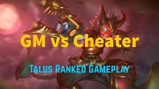[Paladins] Worst Cheater in SEA   Talus Gameplay (Ranked)