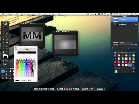  How to make a logo in Pixelmator