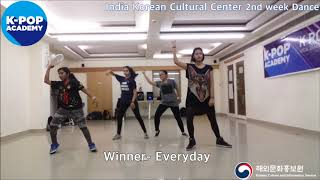 2018 K-pop Academy_주인도한국문화원 보컬 1주차_IndiaKoreanCulturalCenter-Vocal 2nd week_WINNER - Everyday