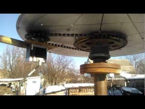 Вертикальный ветрогенератор  видео
