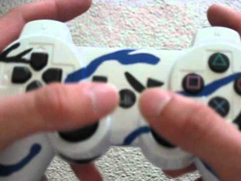 My Custom Paint Job on my PS3 Controller