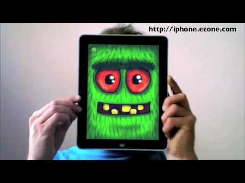 Apple iPad Demo - Crazy Face