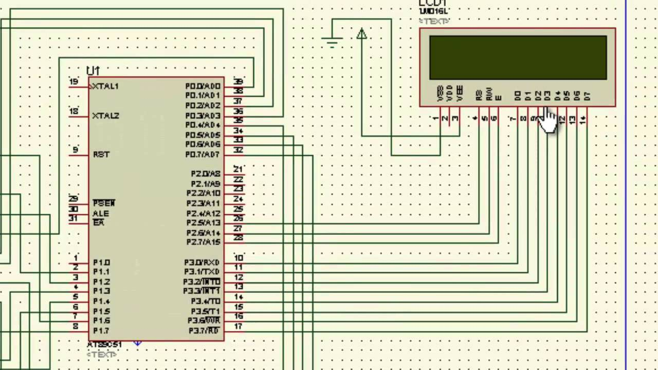 Digital Clock Circuit Using 8051 Microcontroller And Ds12c887 Tachometer Electronics Maker