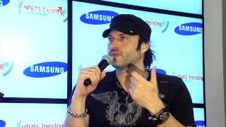 Robert Rodriguez - SXSW 2012 Samsung Blogger Lounge