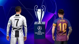 PES 2019 UEFA Champions League Final - Barcelona v Juventus Full Match