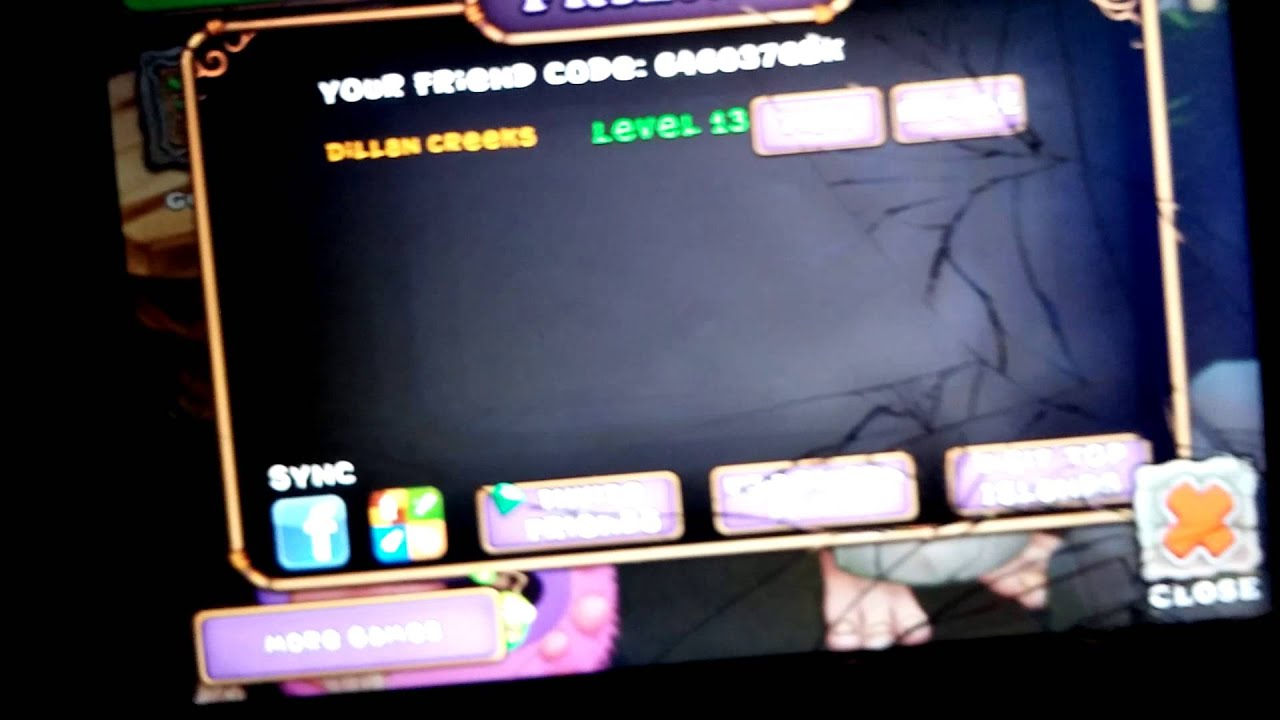 My singing monsters friend code please add me - YouTube