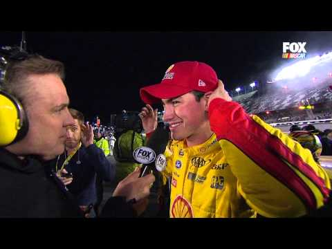 Kevin Harvick/Joey Logano Confrontation 2015 NSCS Sprint Unlimited