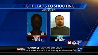 Fight leads to shooting in Vicksburg, police say