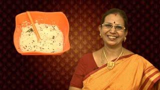 White Coconut Chutney   Mallika Badrinath Recipes   Dosa Side Dish