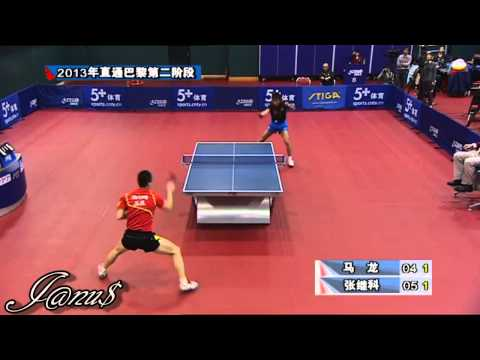 2013 China Trials for WTTC: MA Long Vs ZHANG Jike [HD] [Full Match/Short Form +MA Long's Interview!]