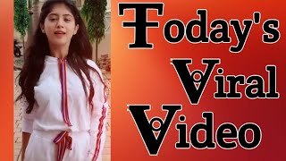 Today's viral video Tik tok [arishfa khan musically][Tik tok famous girl][tik Tok 2019]