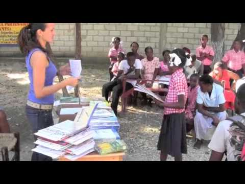 Ayiti Now Corp - School Book Bank Nov 2011