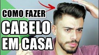 🔴 COMO FAZER CABELO MASCULINO 2019 EM CASA | HAIRSTYLE FOR MEN